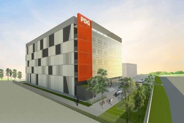 Princeton Digital Group's Data Center Building JC2