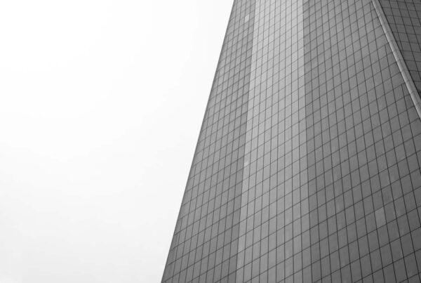building facade in grey