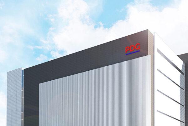 3D rendering of PDG's Tokyo data center campus