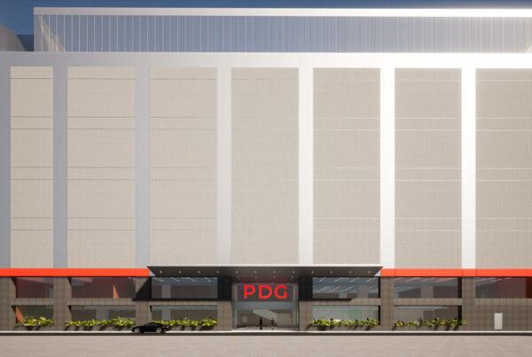 3D rendering of PDG's JC2 Indonesia campus